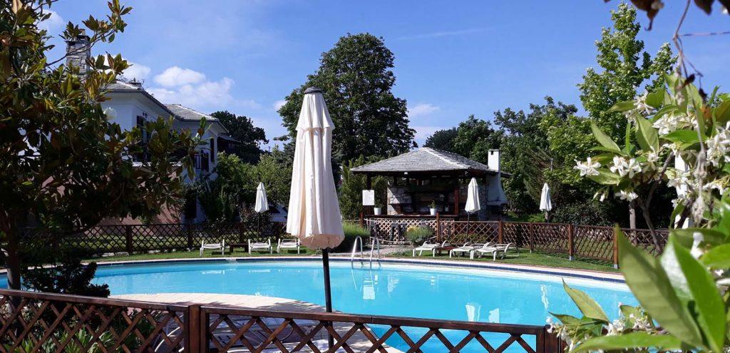 Pelion Resort Swimming Pool
