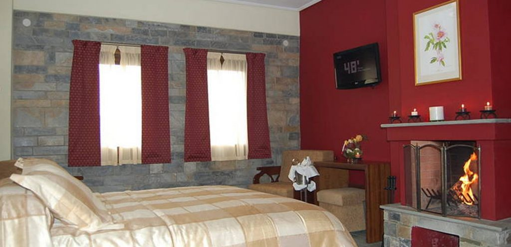 Pelion Resort rooms Superior With fireplace